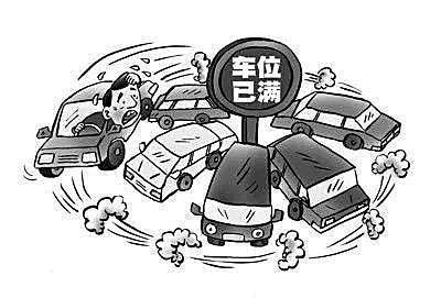 """闲置资源管理不严,如何克服停车困难的""""堵塞""""?"""